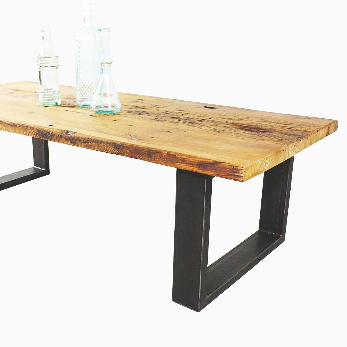 Famous Reclaimed Pine & Iron Coffee Tables With Buy A Hand Made Reclaimed Pine Coffee Table, Made To Order From What (View 3 of 20)
