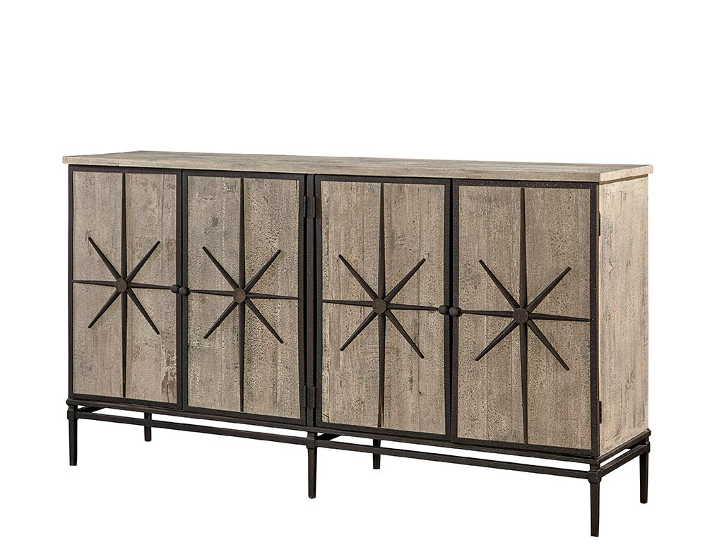 Famous Rustic Black & Zebra Pine Sideboards Regarding Sideboards, Cabinets, Shelving (View 4 of 20)