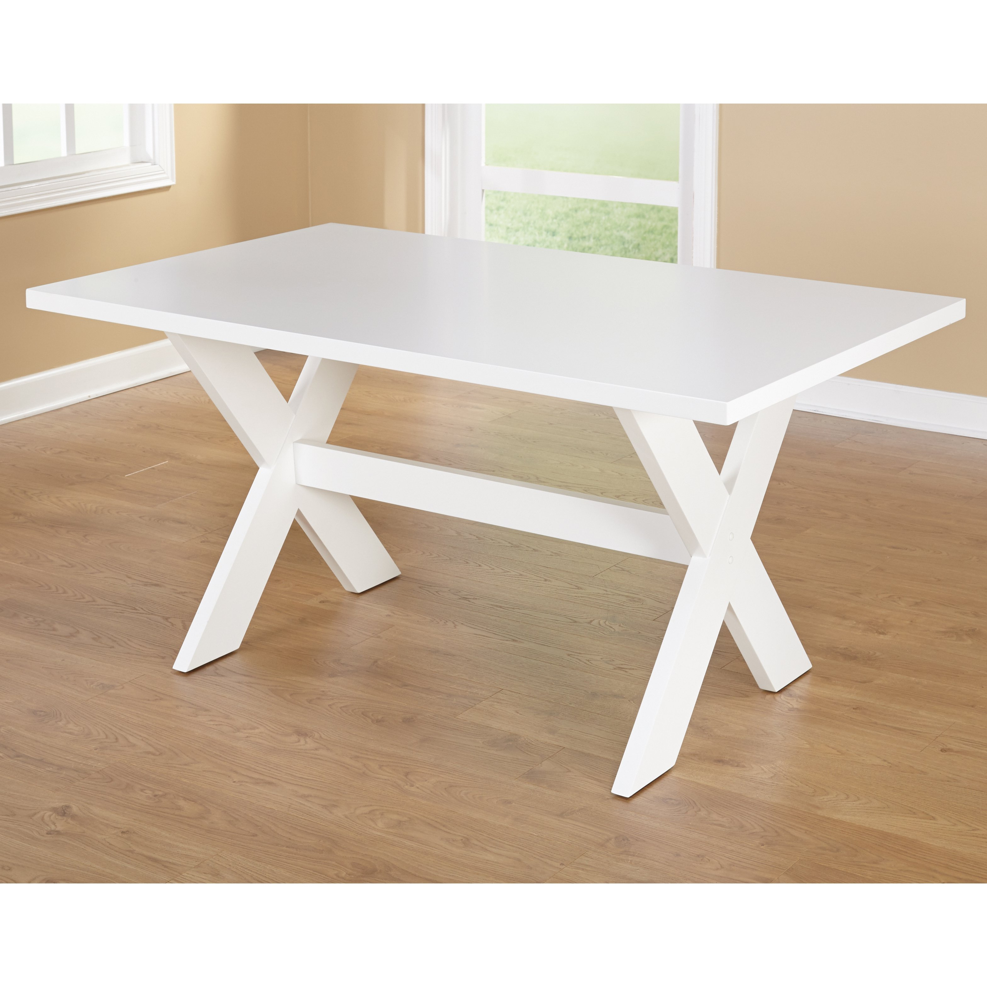 """Famous Shop Simple Living Sumner Dining Table – 29.75""""h X 35.5""""w X 51.1""""l Pertaining To Bale Rustic Grey Round Cocktail Tables With Storage (Gallery 4 of 20)"""