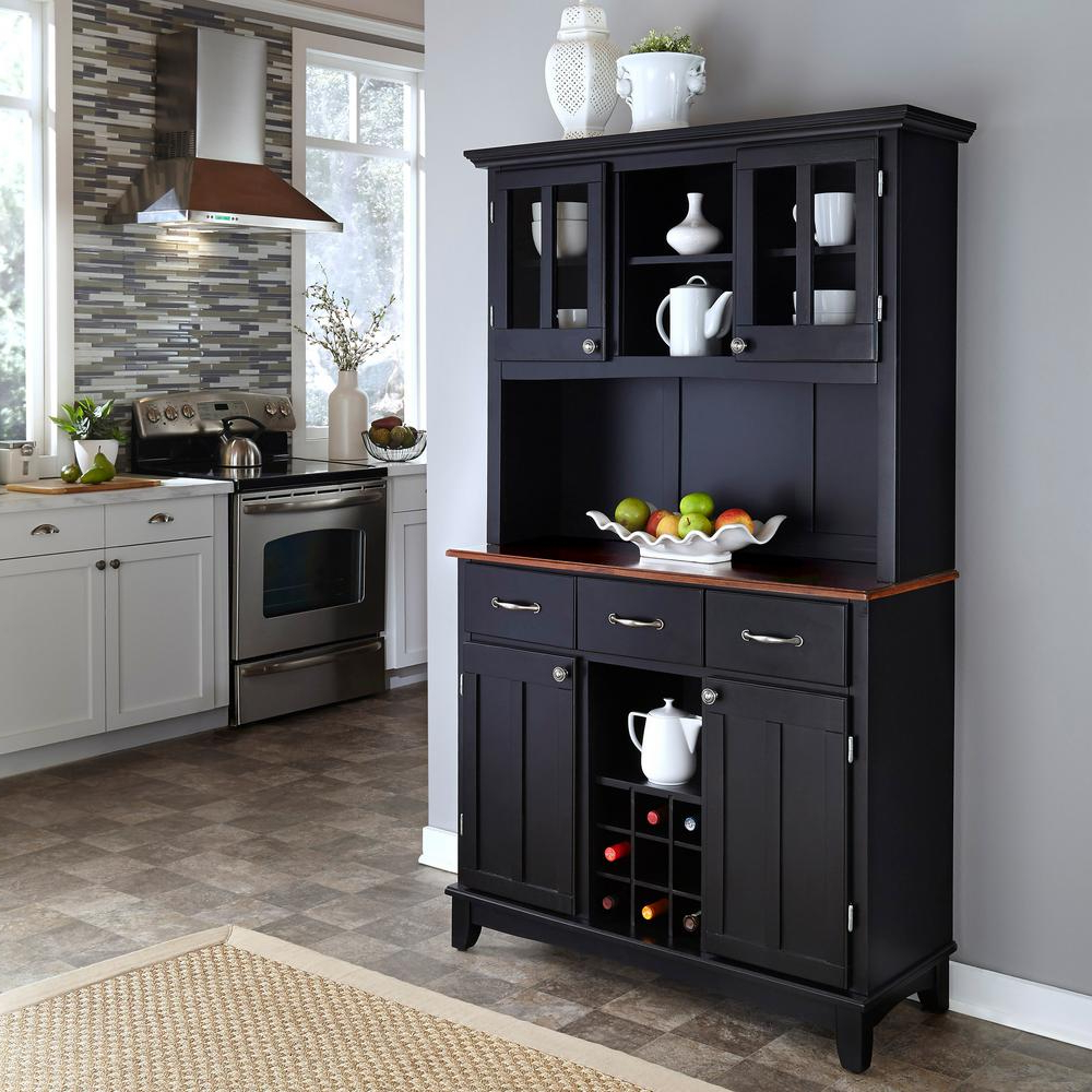 Famous Sideboards & Buffets – Kitchen & Dining Room Furniture – The Home Depot For Reclaimed 3 Drawer Icebox Sideboards (View 18 of 20)