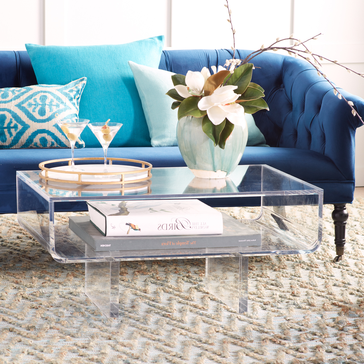 Famous Stately Acrylic Coffee Tables Regarding Modern Acrylic Coffee Table (Gallery 6 of 20)