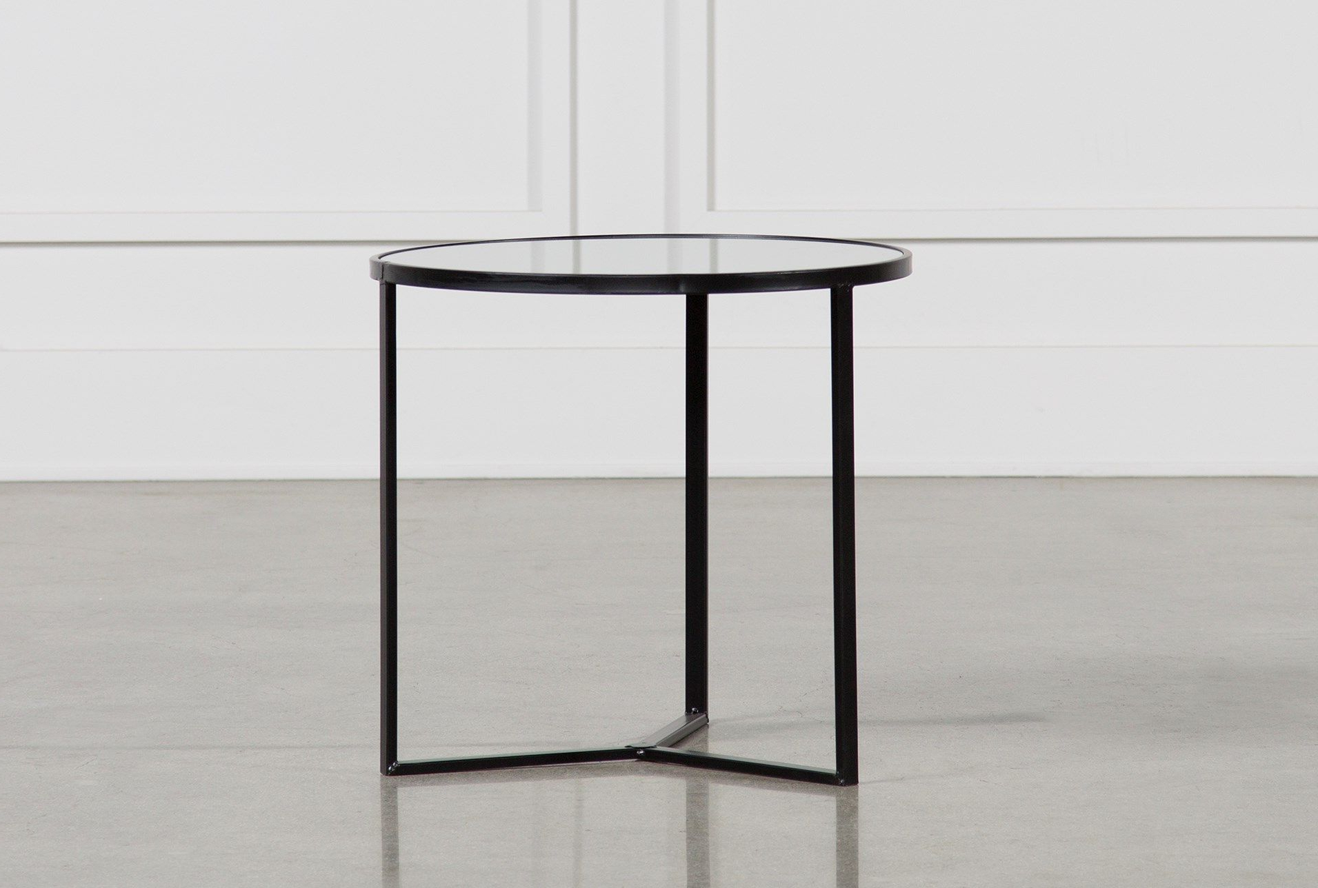 Famous Torrin Round Cocktail Tables With Regard To Fiona End Table, Black (Gallery 16 of 20)