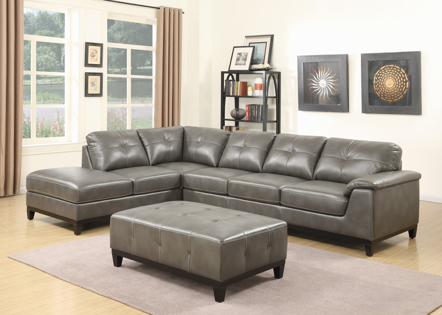 Fashionable Aquarius Light Grey 2 Piece Sectionals With Laf Chaise Regarding Living Room Sofa With Chaise Beautiful Trent Austin Design Lonato (View 8 of 20)