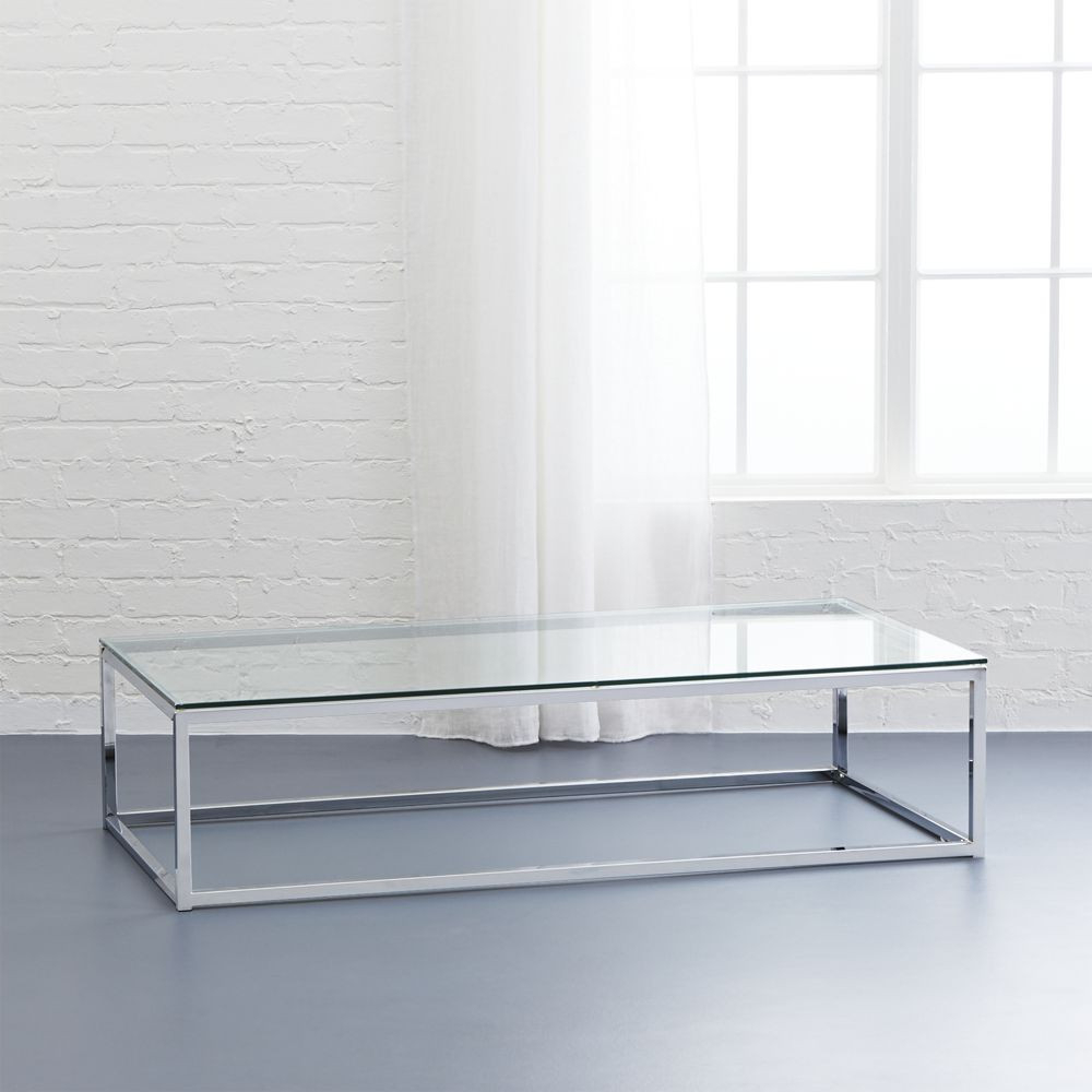 Fashionable Cb2 Smart Glass Top Coffee Table (View 7 of 20)