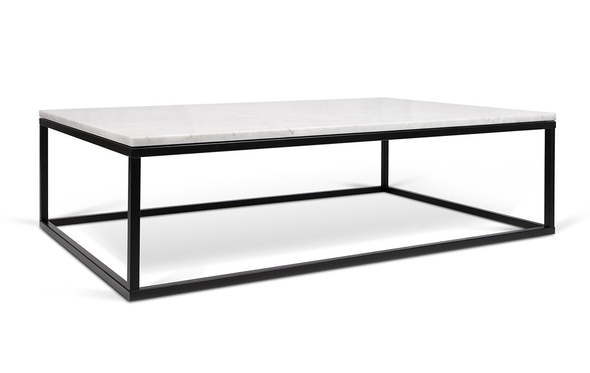 Fashionable Iron Marble Coffee Tables For Coffee Table (View 3 of 20)