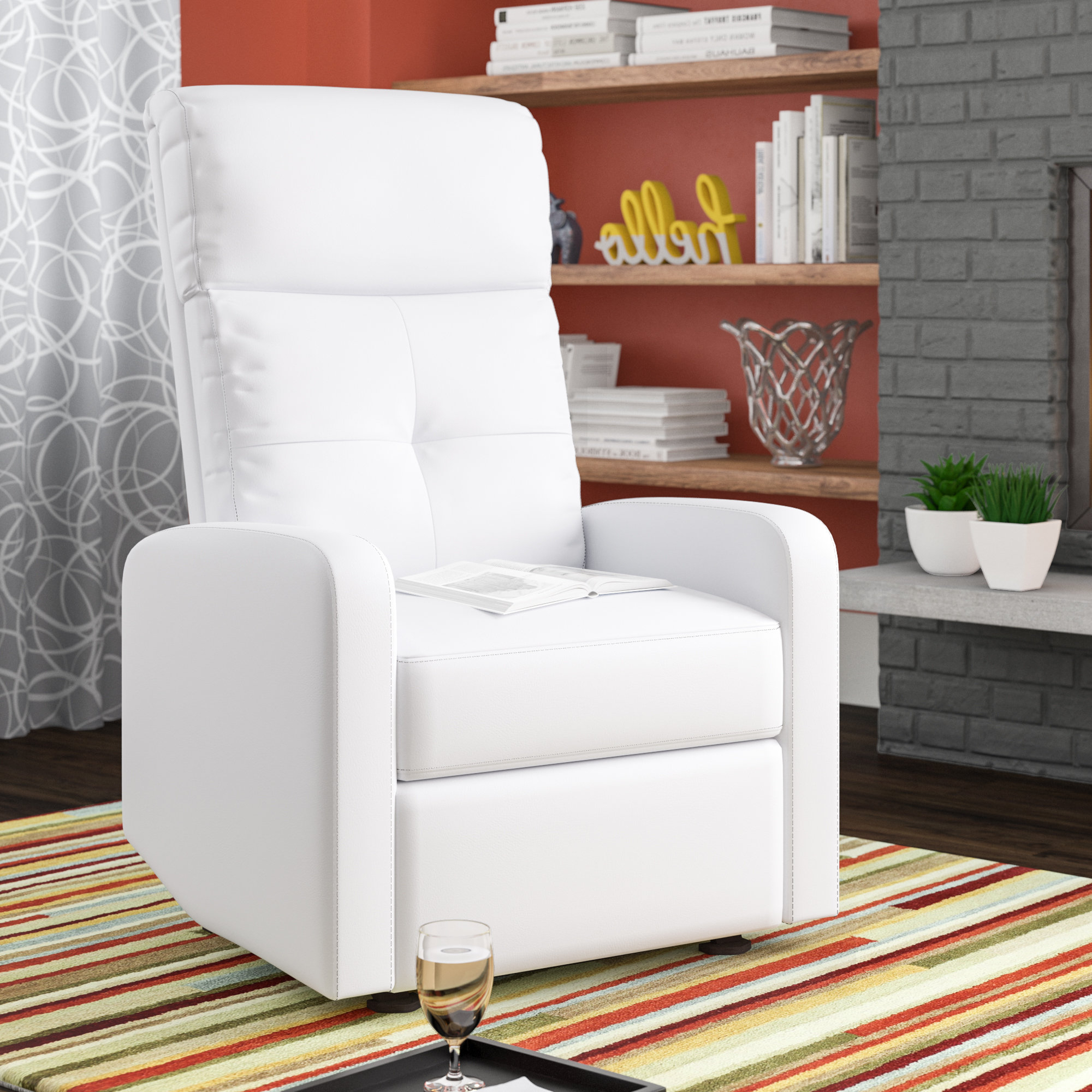 Fashionable Latitude Run Suai Manual Recliner & Reviews (Gallery 14 of 20)