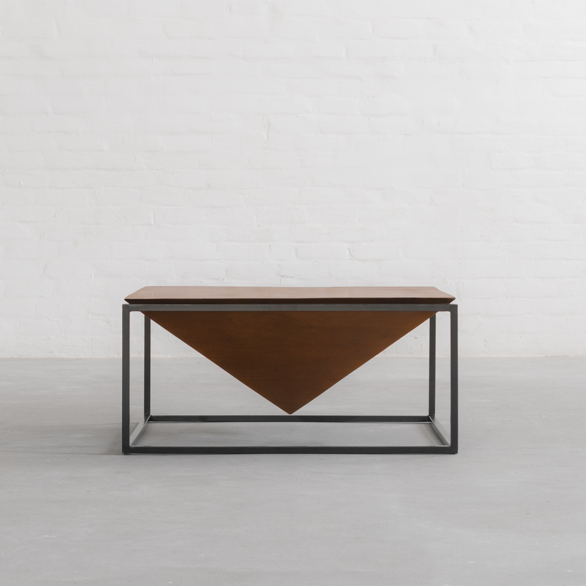 Fashionable Louvre Coffee Table Inside Inverted Triangle Coffee Tables (View 2 of 20)