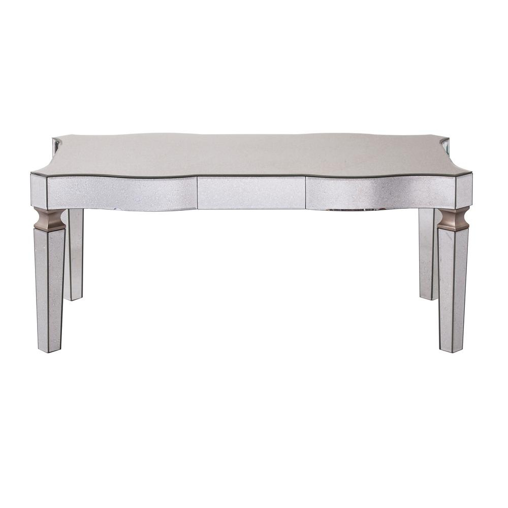 Fashionable Metal – Coffee Table – Coffee Tables – Accent Tables – The Home Depot Throughout Weaver Dark Rectangle Cocktail Tables (View 9 of 20)