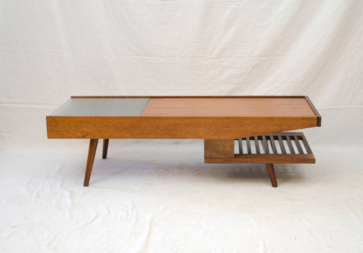 Fashionable Mid Century Modern Marble Coffee Tables Inside Flagrant Coffee Table Mid Century Coffee Table Legs Withthroughout (View 11 of 20)