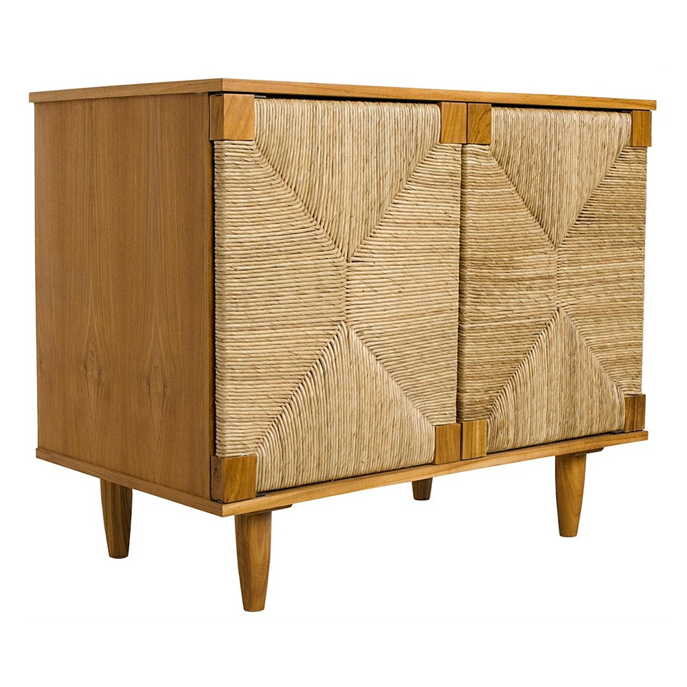 Fashionable Noir Brook 2 Door Sideboard (View 4 of 20)