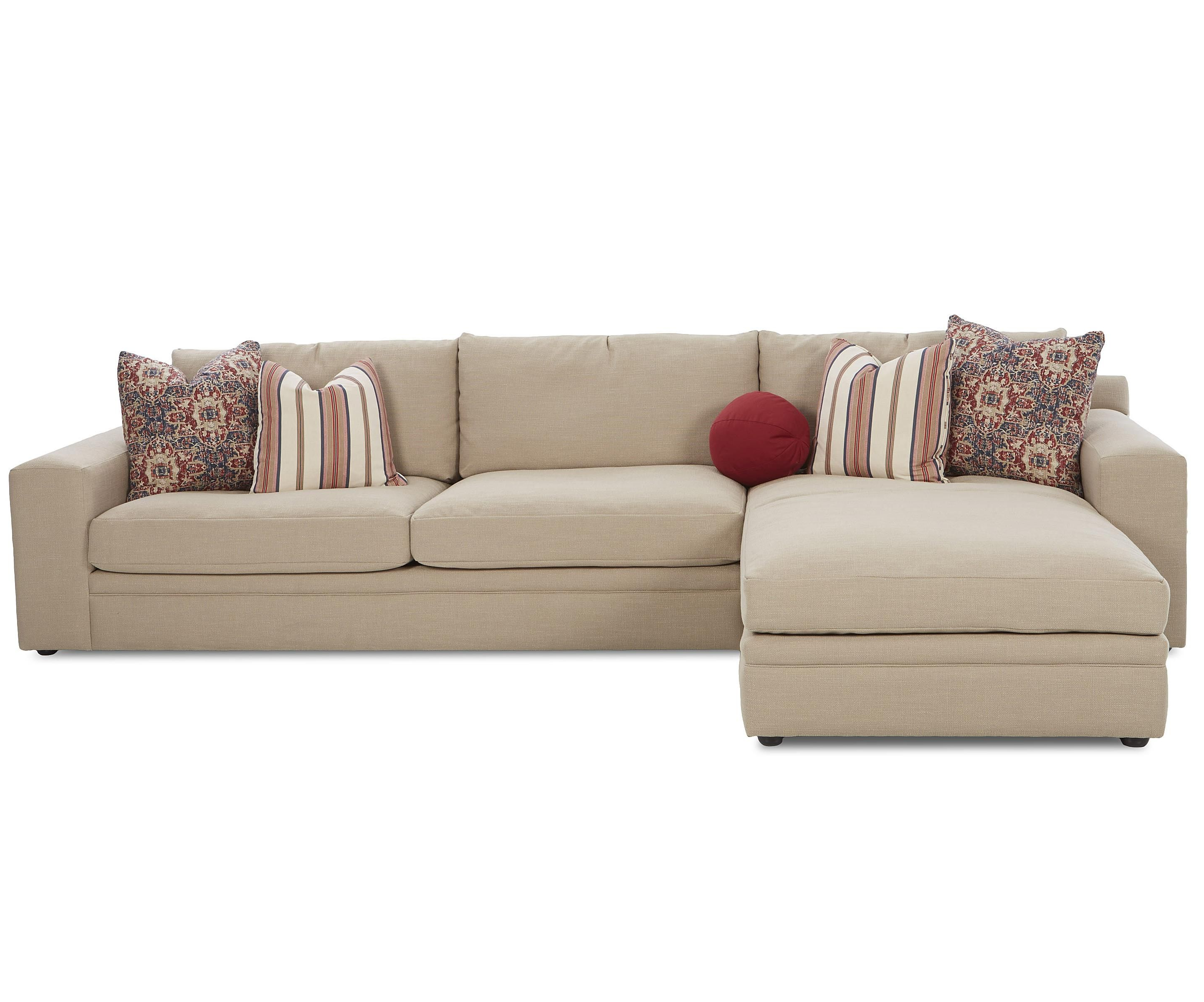Fashionable Stylish Casual 3 Piece Sectional Sofa With Track Arms And Loose Back For Gordon 3 Piece Sectionals With Raf Chaise (View 11 of 20)