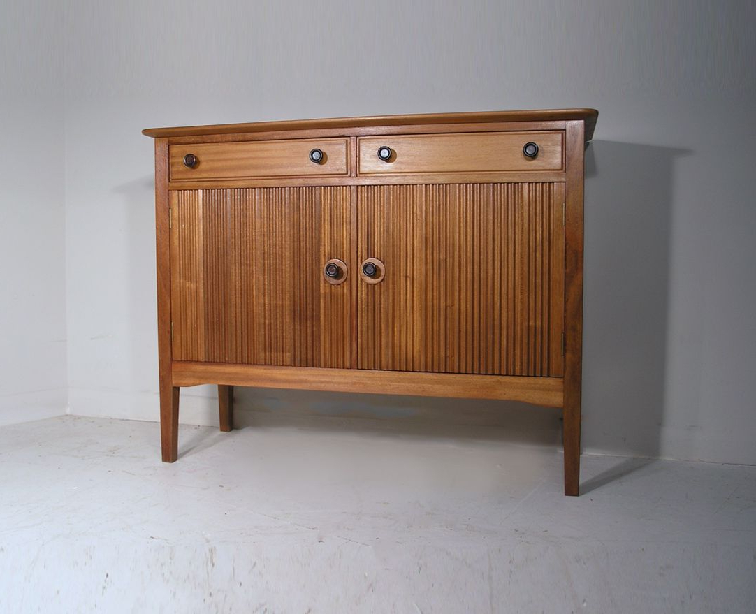 Fashionable Walnut Small Sideboards Regarding Vintage Solid Walnut & Mahogany Small Sideboarddavid Booth For (View 2 of 20)