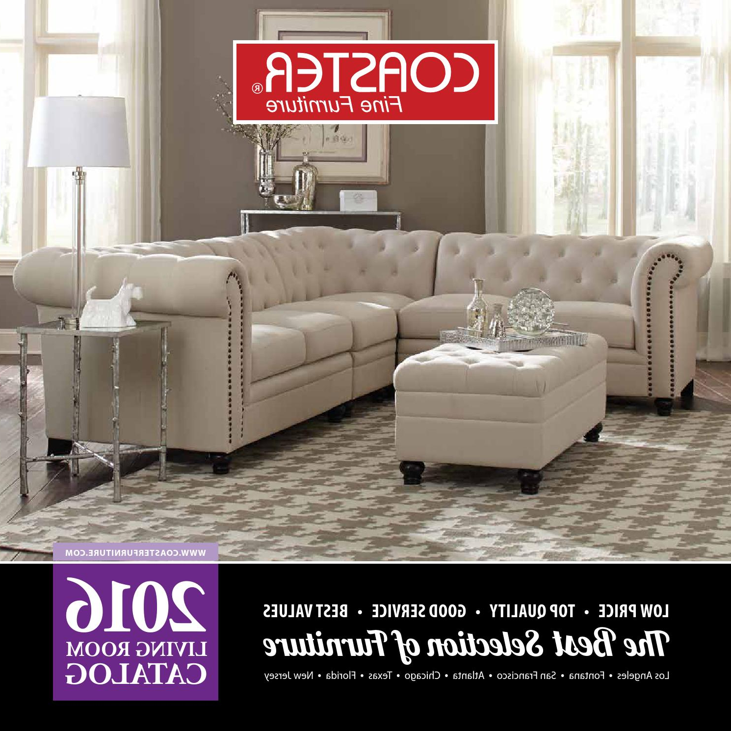 Favorite 2016 Living Room Catalogcoaster Company Of America – Issuu With Regard To Clyde Saddle 3 Piece Power Reclining Sectionals With Power Headrest & Usb (View 13 of 20)
