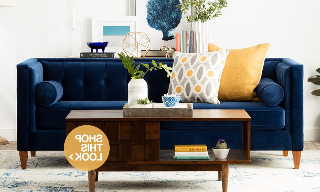 Favorite 3 Coffee Table Styling Ideas To Copy At Home – Overstock Regarding Bale Rustic Grey Round Cocktail Tables With Storage (Gallery 17 of 20)