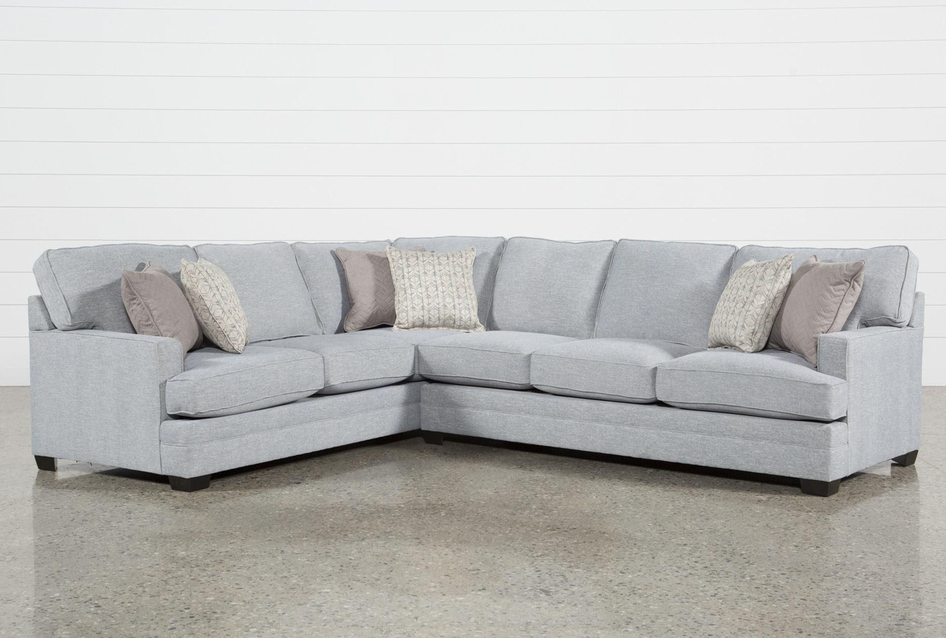 Favorite Aurora 2 Piece Sectionals In Josephine 2 Piece Sectional W/laf Sofa In  (View 10 of 20)