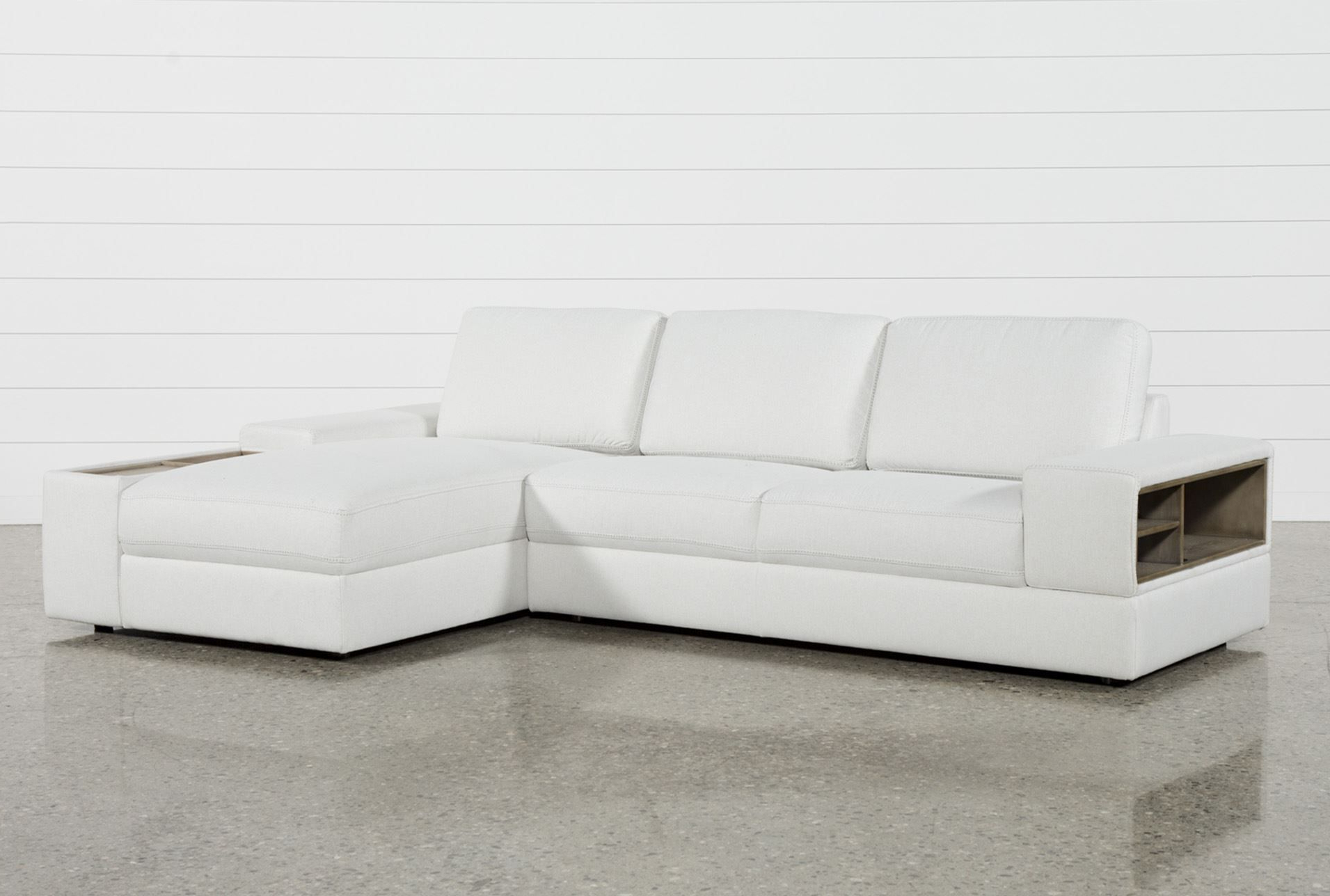 Favorite Avery 2 Piece Sectionals With Raf Armless Chaise Regarding Larimar Stone 2 Piece Sectional W/raf Chaise & Usb (View 14 of 20)