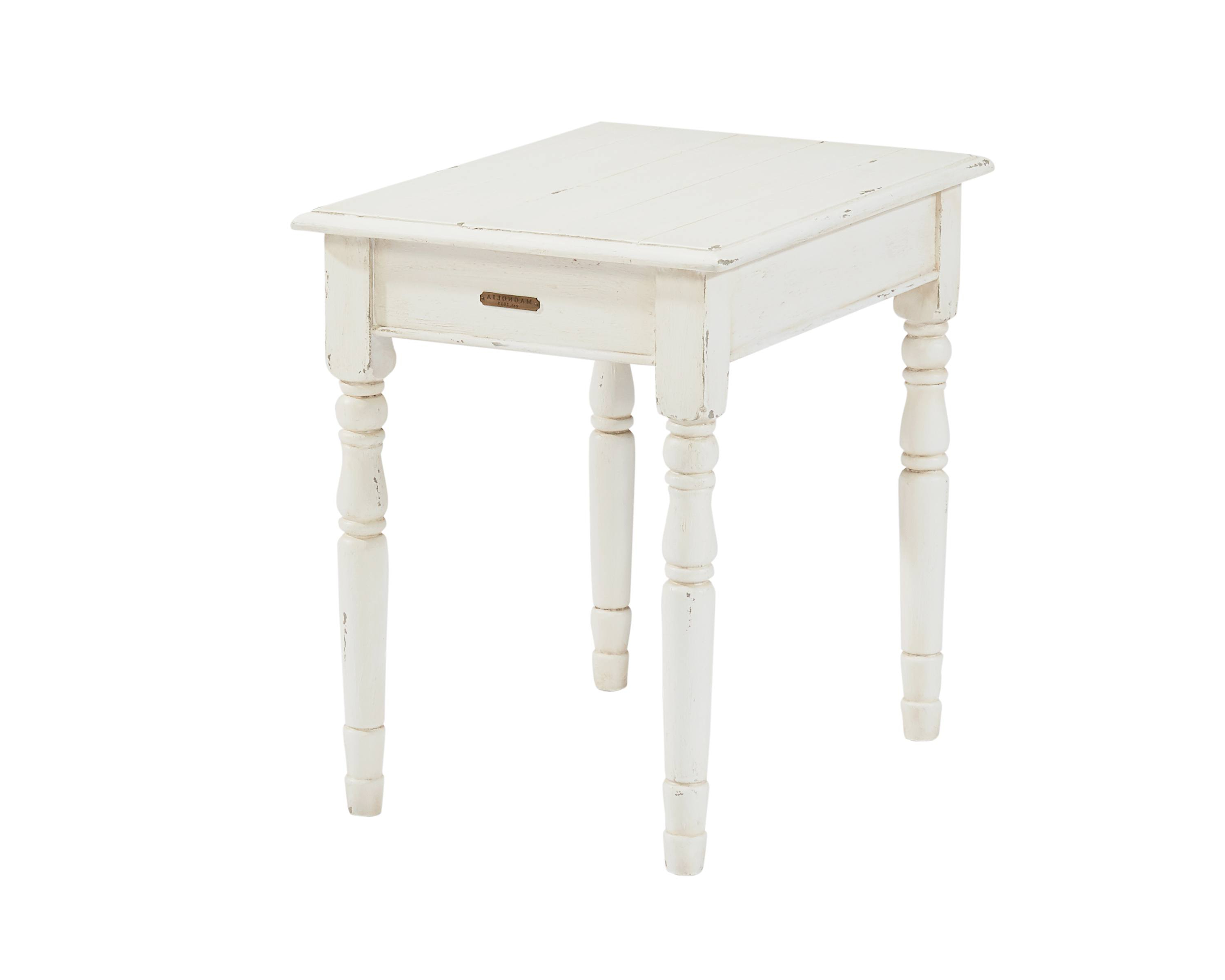 Favorite Magnolia Home Scallop Antique White Cocktail Tables With Regard To Homestead + Scallop – Magnolia Home (View 18 of 20)