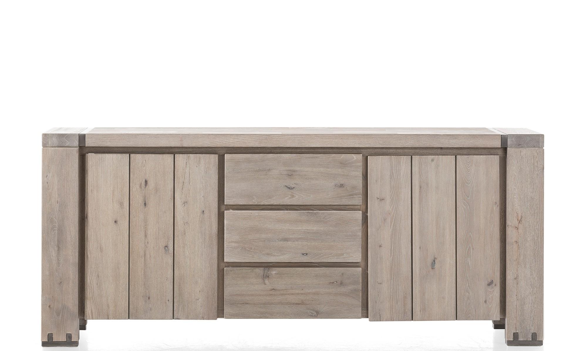 Favorite Square Brass 4 Door Sideboards For Sideboards – Modern, Oak & Pine Sideboards – Fishpools (View 4 of 20)
