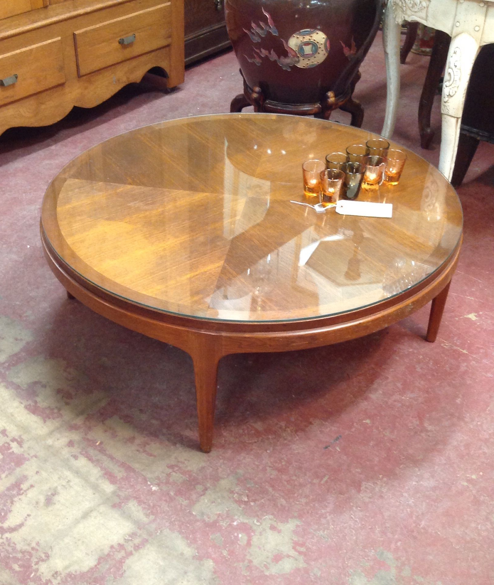 Favorite Vintage Wood Coffee Tables For Sold $ (View 16 of 20)