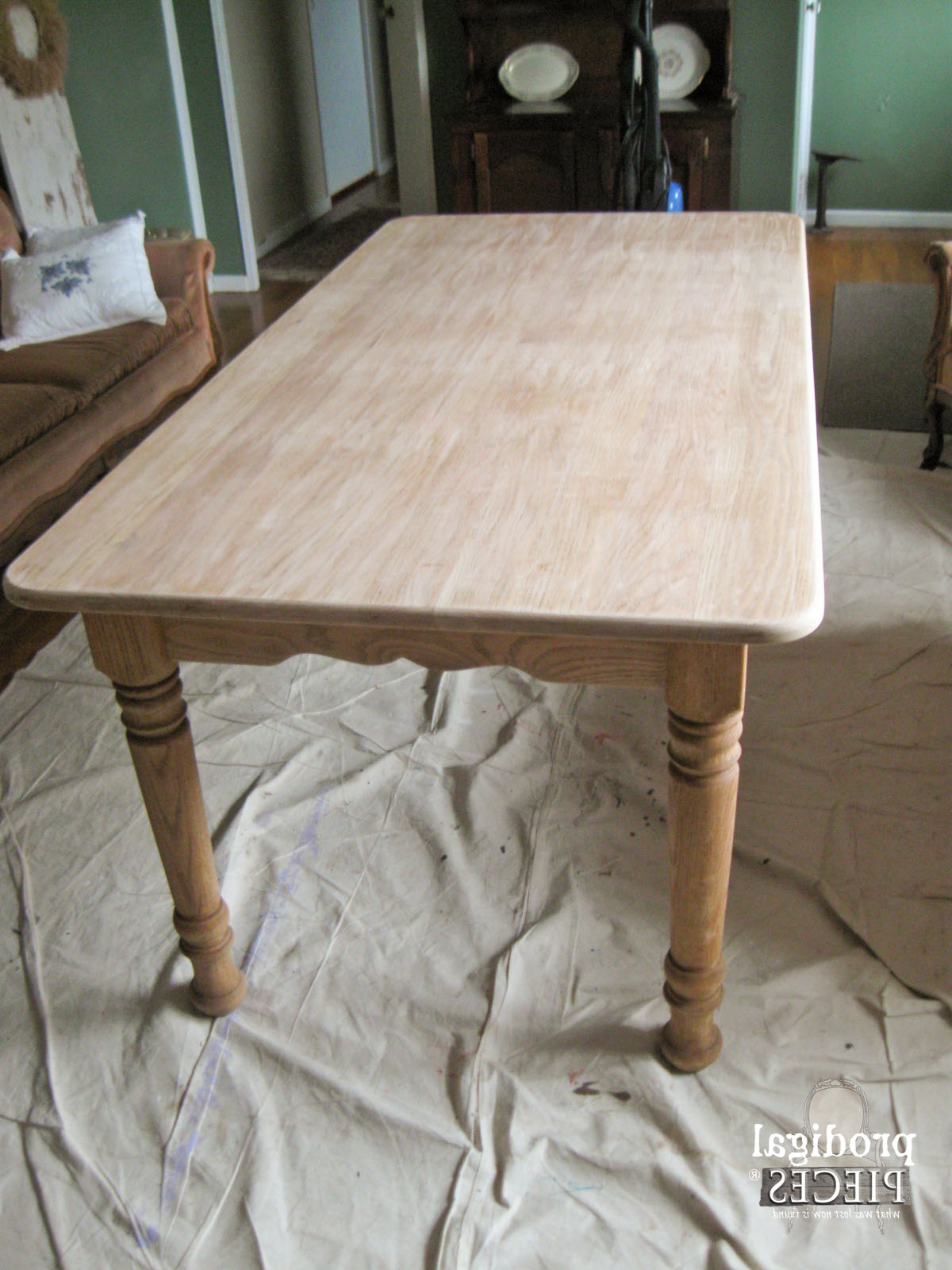 Favorite Whitewashed (Or Limewashed) Wood – Prodigal Pieces In Round White Wash Brass Painted Coffee Tables (View 3 of 20)