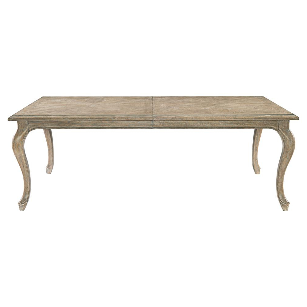 Felicity French Country Rustic Oak Wood Dining Table (Gallery 9 of 20)