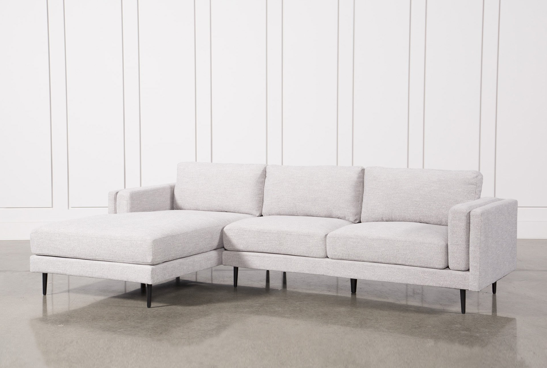 Flossy Pull Out Bed Chaise Aquarius Light Grey Piece Sectional Throughout Trendy Egan Ii Cement Sofa Sectionals With Reversible Chaise (View 13 of 20)