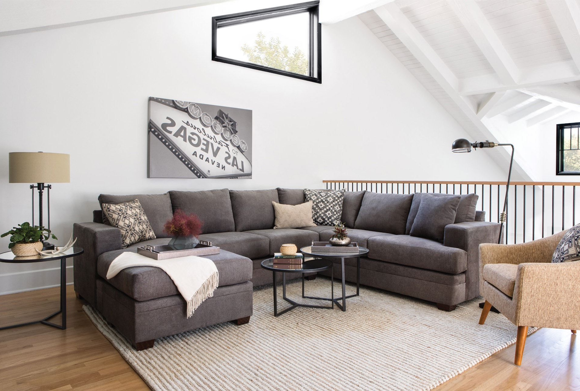 For The Home Inside Famous Tatum Dark Grey 2 Piece Sectionals With Laf Chaise (Gallery 14 of 20)