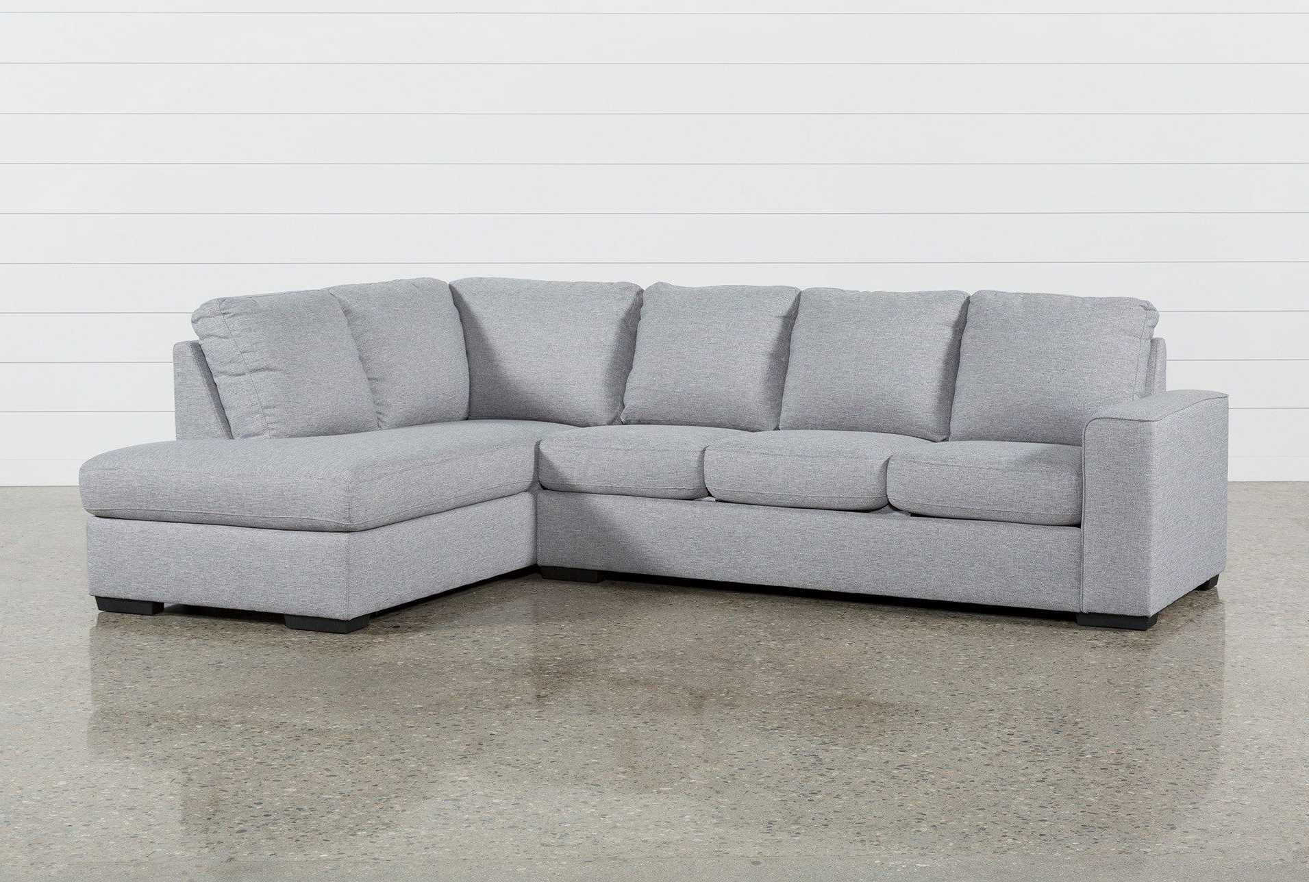 Featured Photo of Lucy Dark Grey 2 Piece Sectionals With Laf Chaise