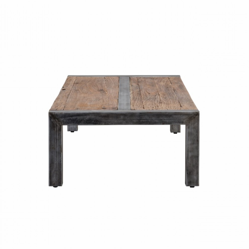 Foundry Cocktail Tables With Preferred Coffee Tables Ideas: Metal Frame Coffee Table With Wood Top Metal (View 11 of 20)