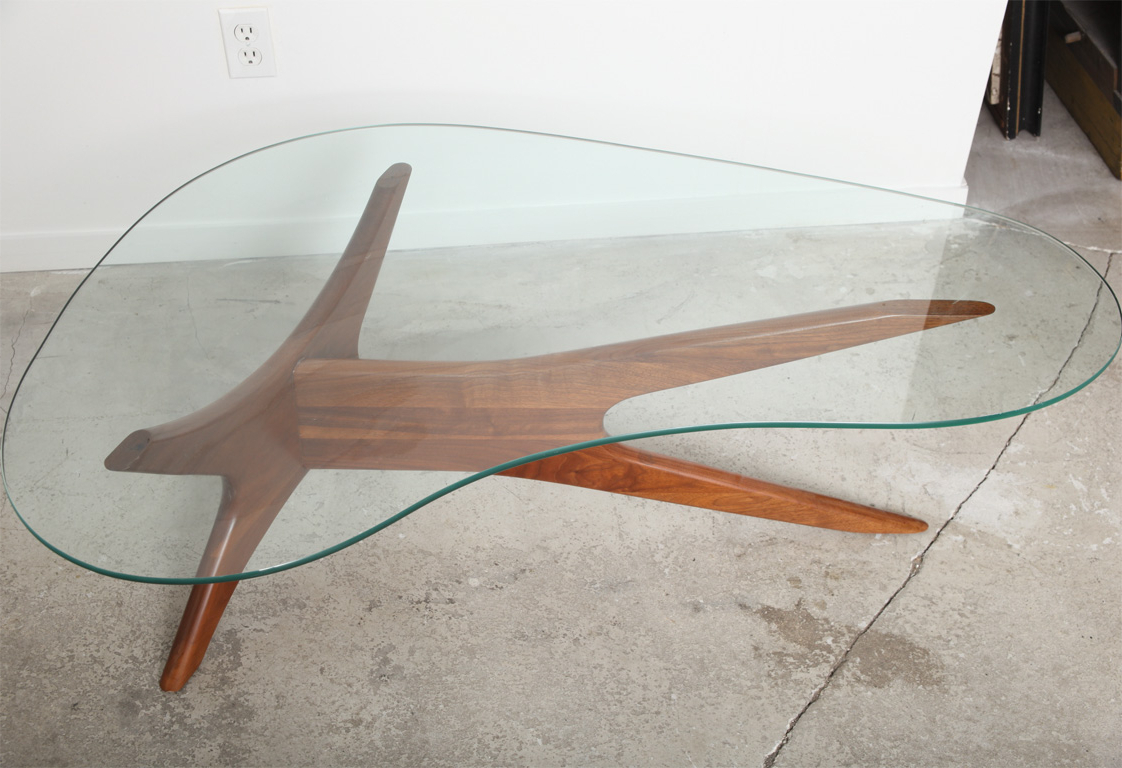 Furniture: Alluring Kidney Shaped Coffee Table With Futuristic Throughout 2018 Jelly Bean Coffee Tables (View 8 of 20)