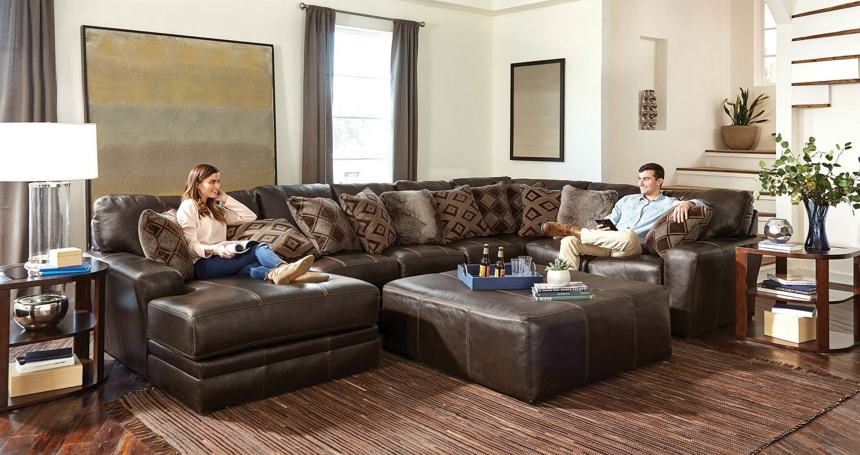 Furniturepick Intended For Most Recent Denali Charcoal Grey 6 Piece Reclining Sectionals With 2 Power Headrests (View 7 of 20)