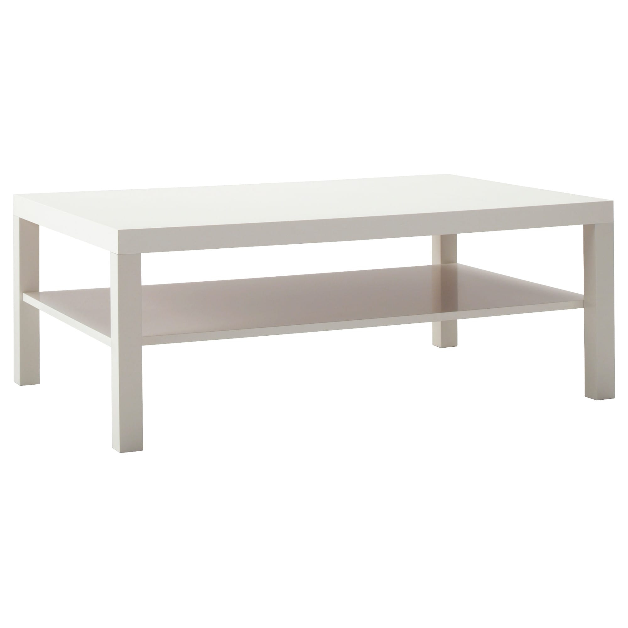 Go Cart White Rolling Coffee Tables Inside Well Known Lack Coffee Table – White – Ikea (View 11 of 20)
