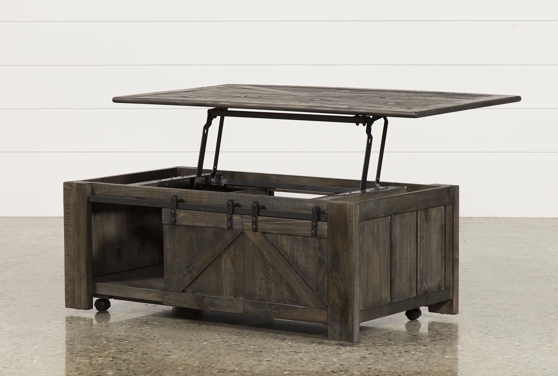 Grant Lift Top Cocktail Table W/casters (View 4 of 20)