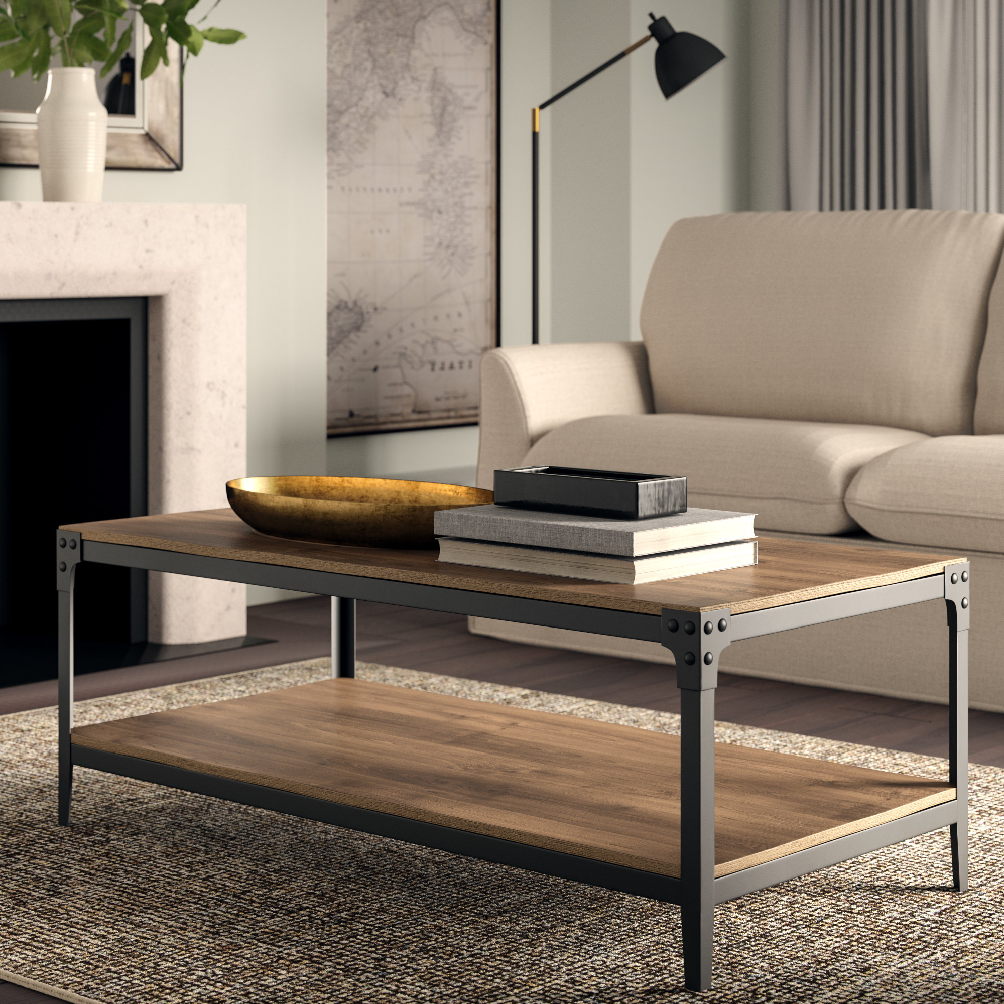 Greyleigh Cainsville Coffee Table & Reviews (View 16 of 20)