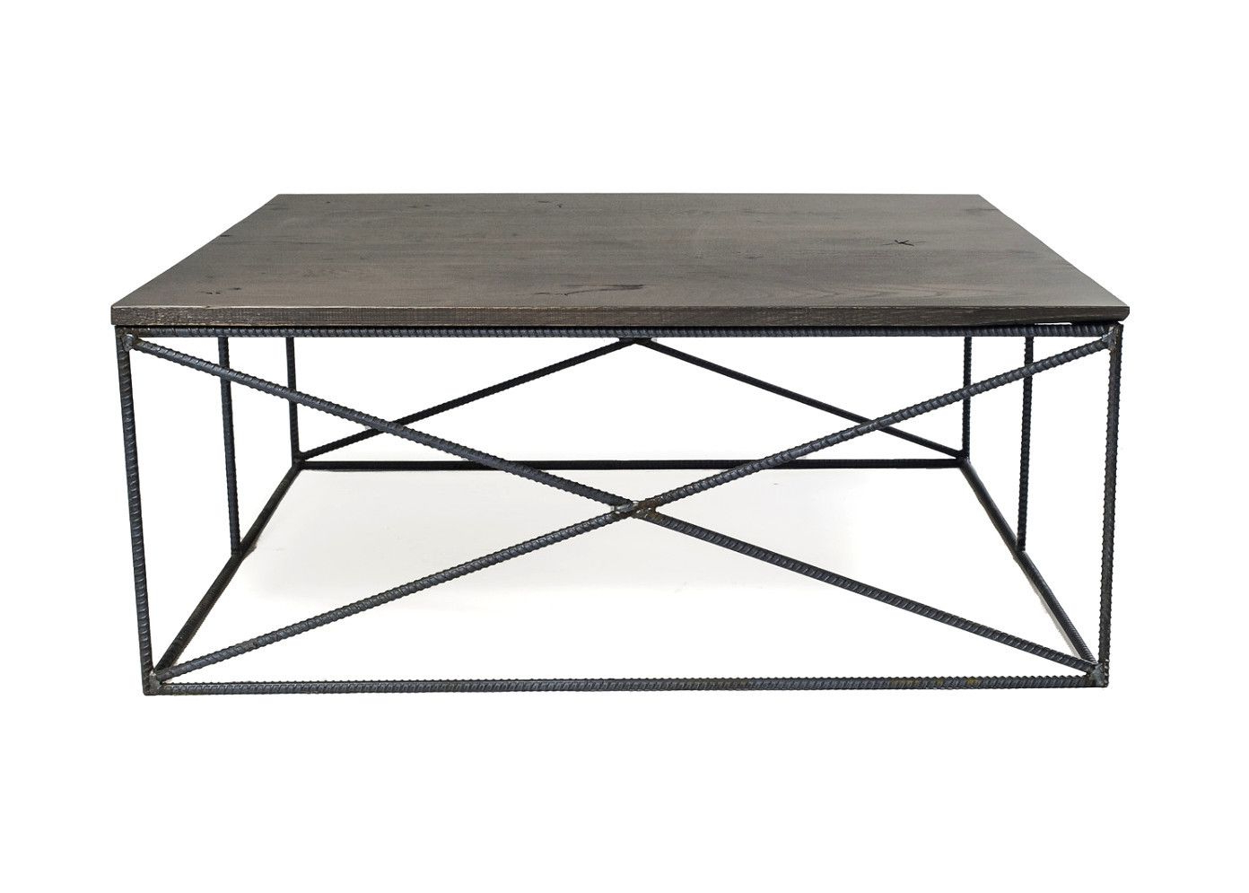Gunmetal Coffee Tables For 2019 Rebar Jones Coffee Table (View 9 of 20)