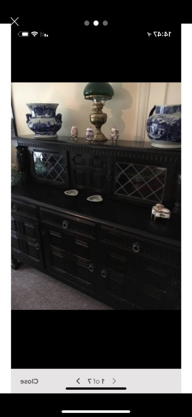 Home And Family (Furniture And Fittings – Antique, Collectors And With Fashionable Capiz Refinement Sideboards (View 8 of 20)