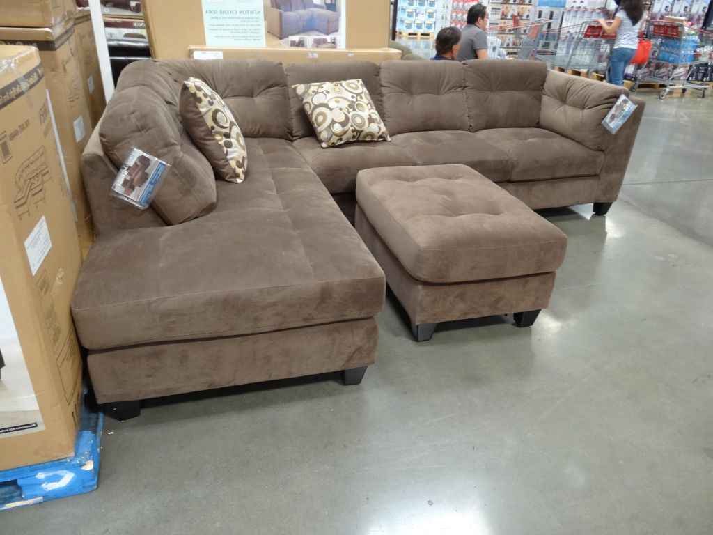 Home Decoration Club In Preferred Burton Leather 3 Piece Sectionals With Ottoman (View 11 of 20)