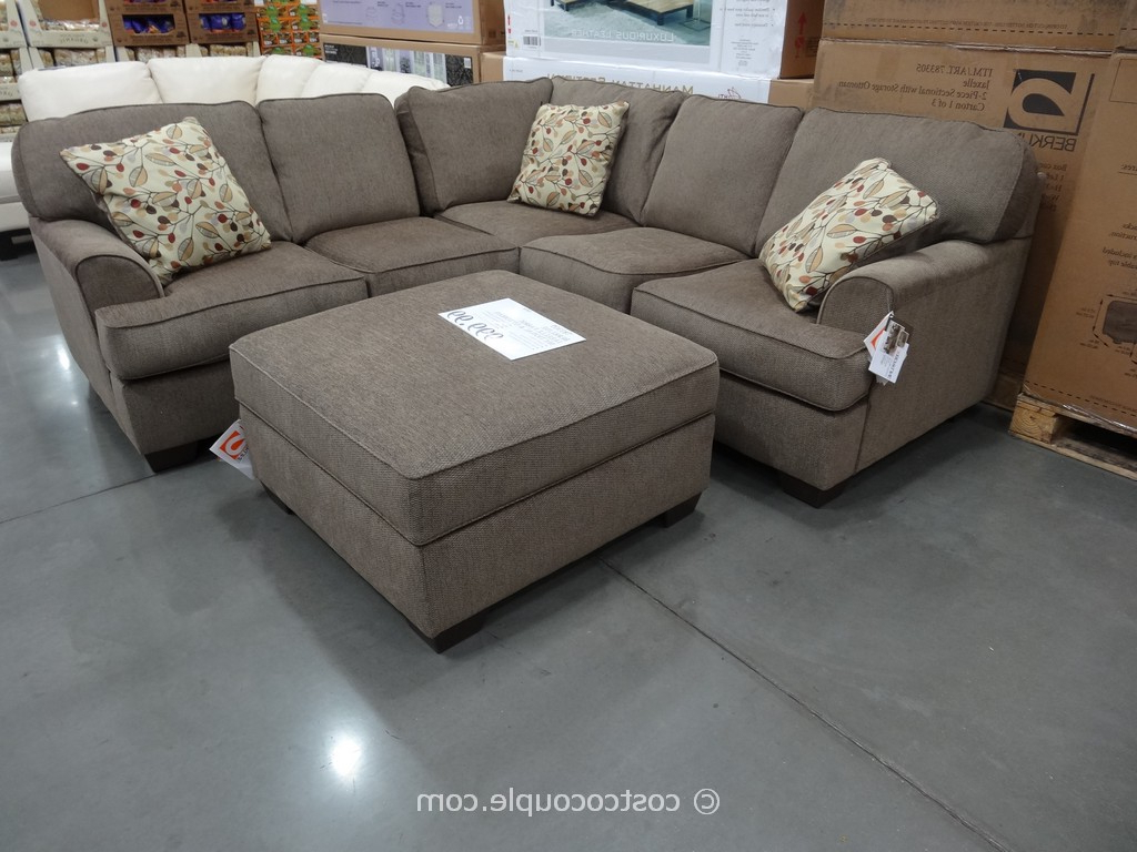 Home Decoration Club In Widely Used Burton Leather 3 Piece Sectionals With Ottoman (View 6 of 20)