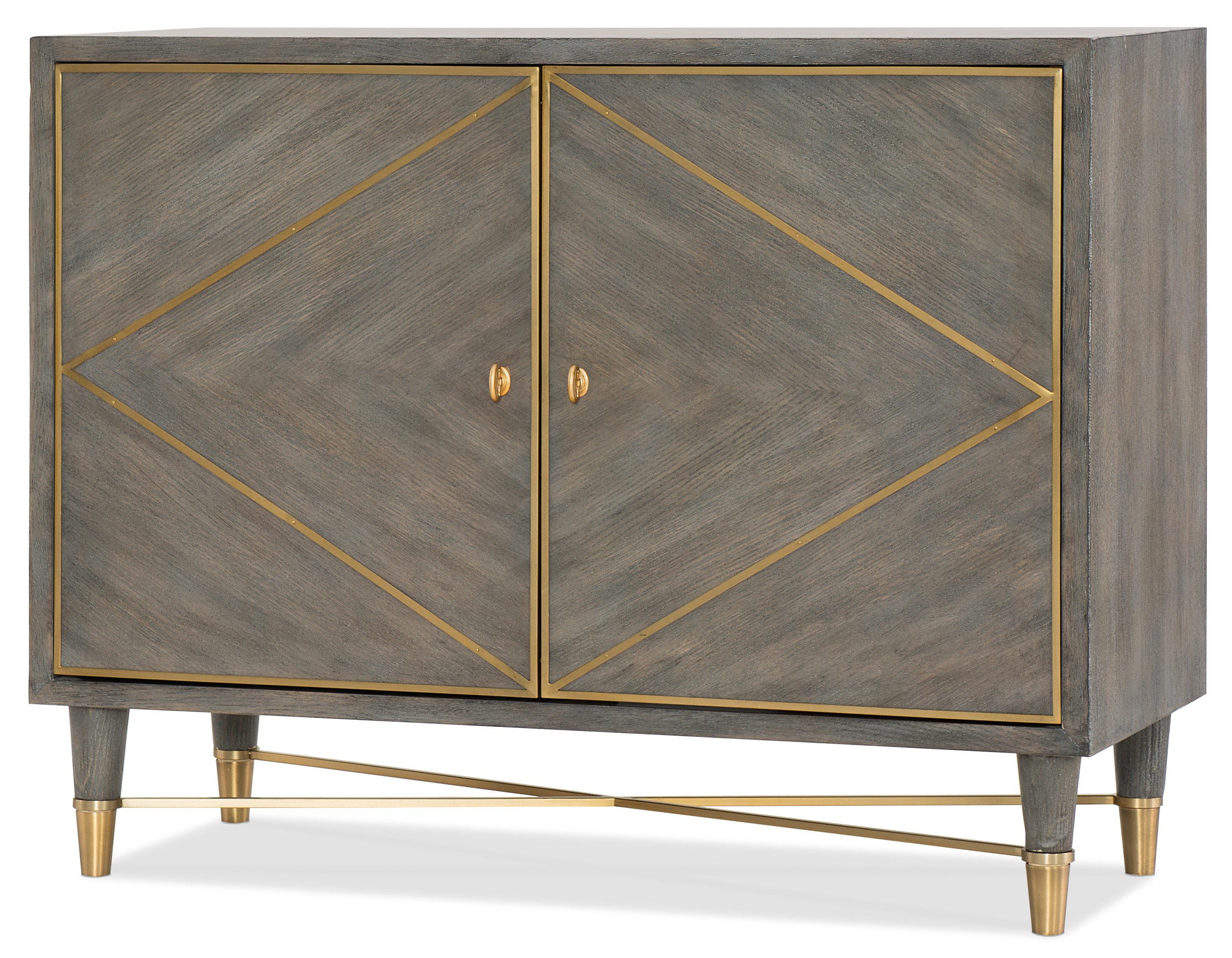 Hooker Furniture Melange Breck 2 Door Accent Chest (Gallery 19 of 20)