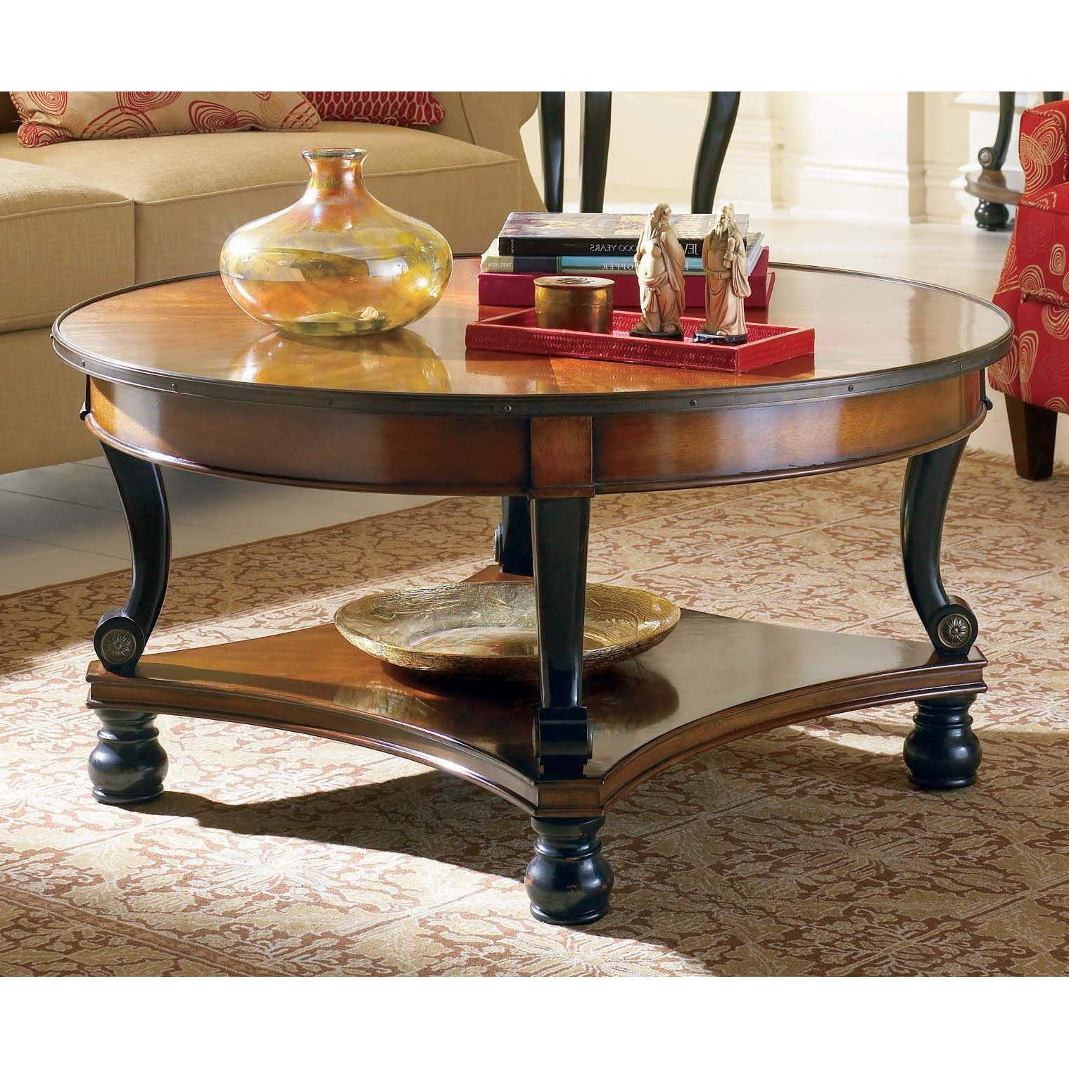 Hooker Furniture Prescott Round Cocktail Table – 453 80 112 For 2018 Prescott Cocktail Tables (View 4 of 20)