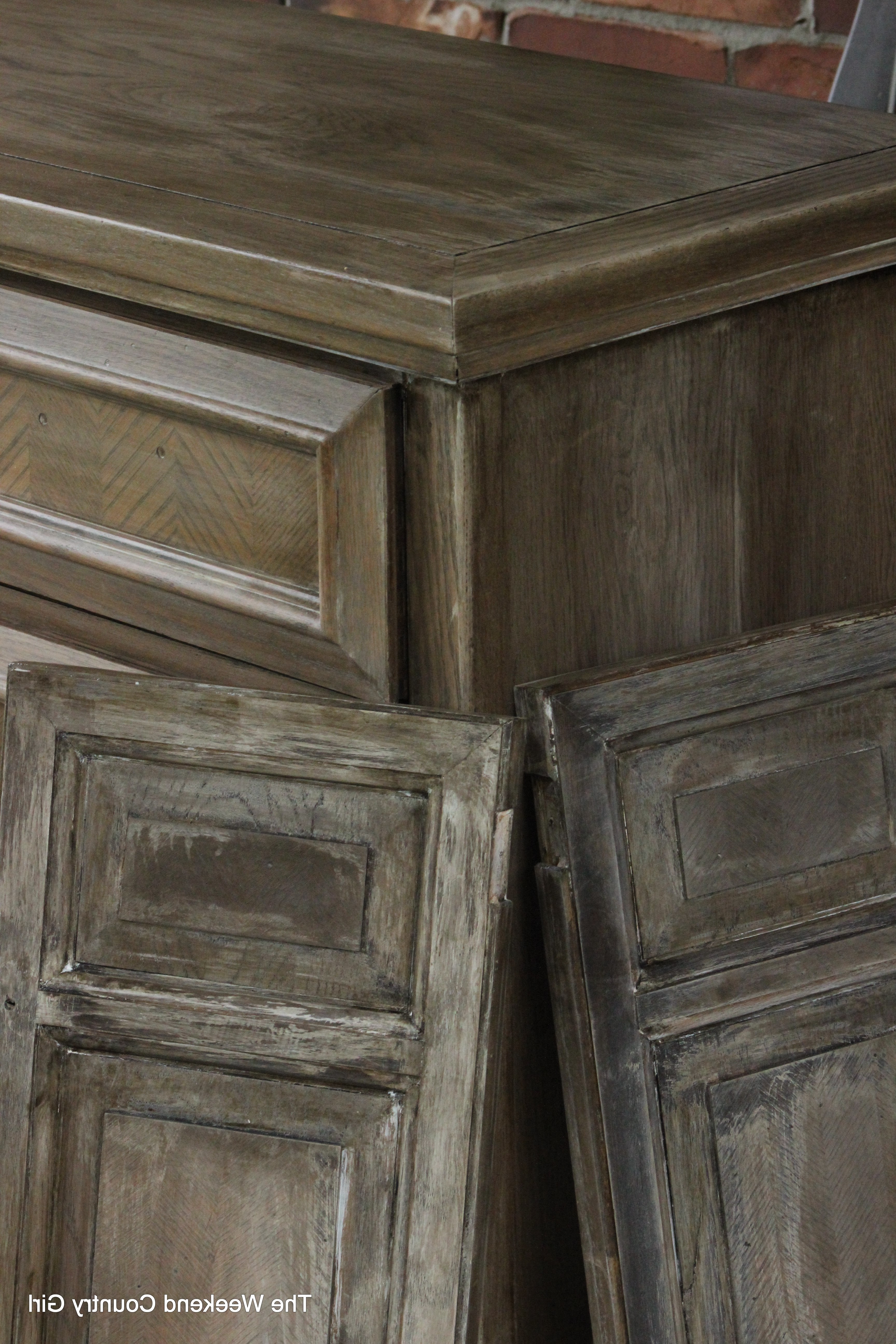 How To Achieve A Restoration Hardware Weathered Oak (Gallery 8 of 20)