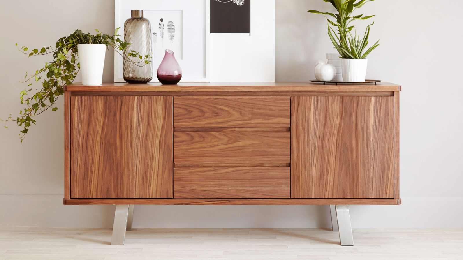 How To Style Your Sideboard Pertaining To Latest Walnut Finish Contempo Sideboards (View 6 of 20)