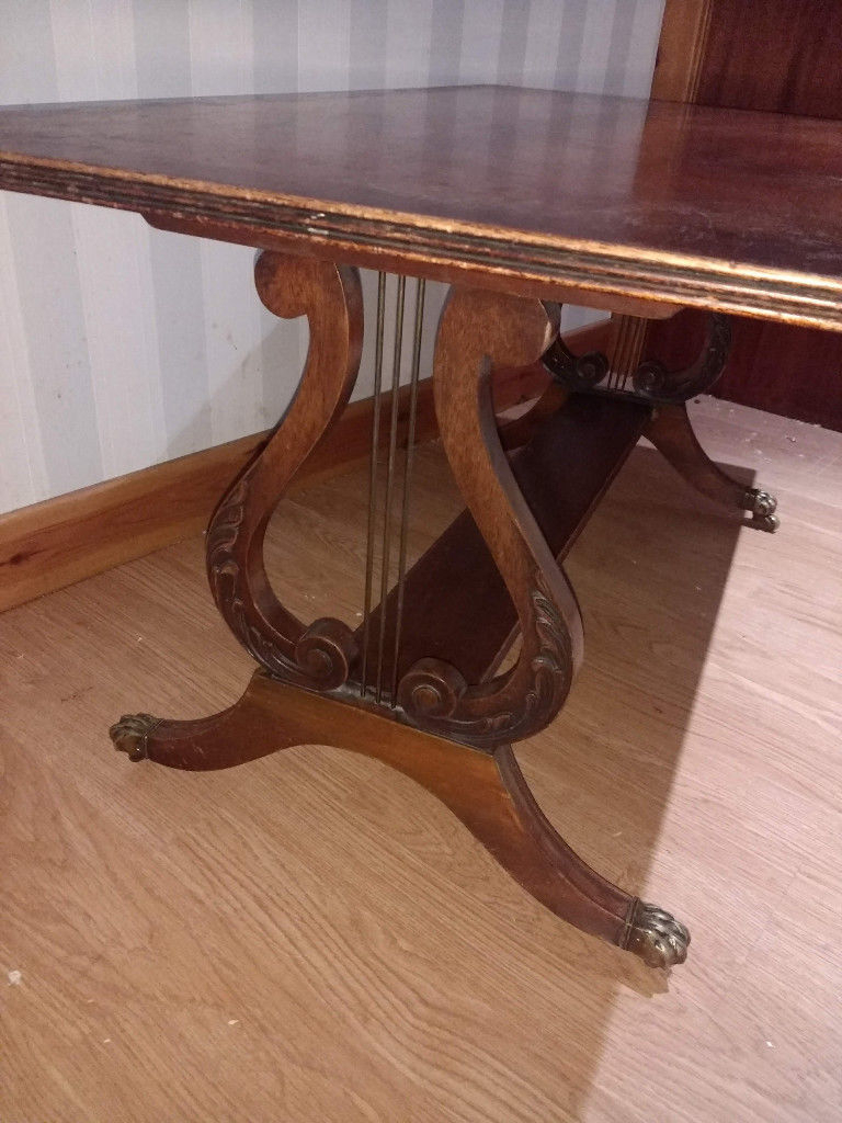 In With Regard To Popular Lyre Coffee Tables (Gallery 6 of 20)