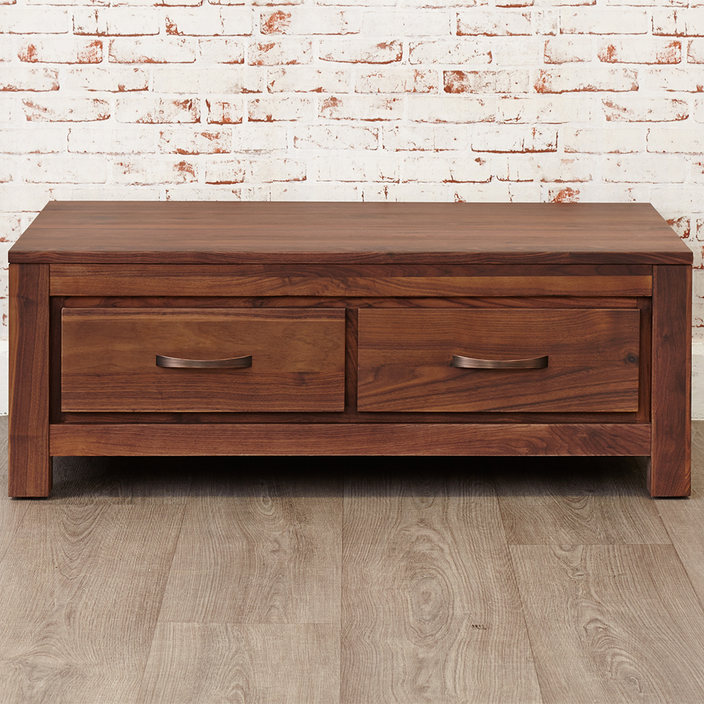 Featured Photo of Walnut 4 Drawer Coffee Tables