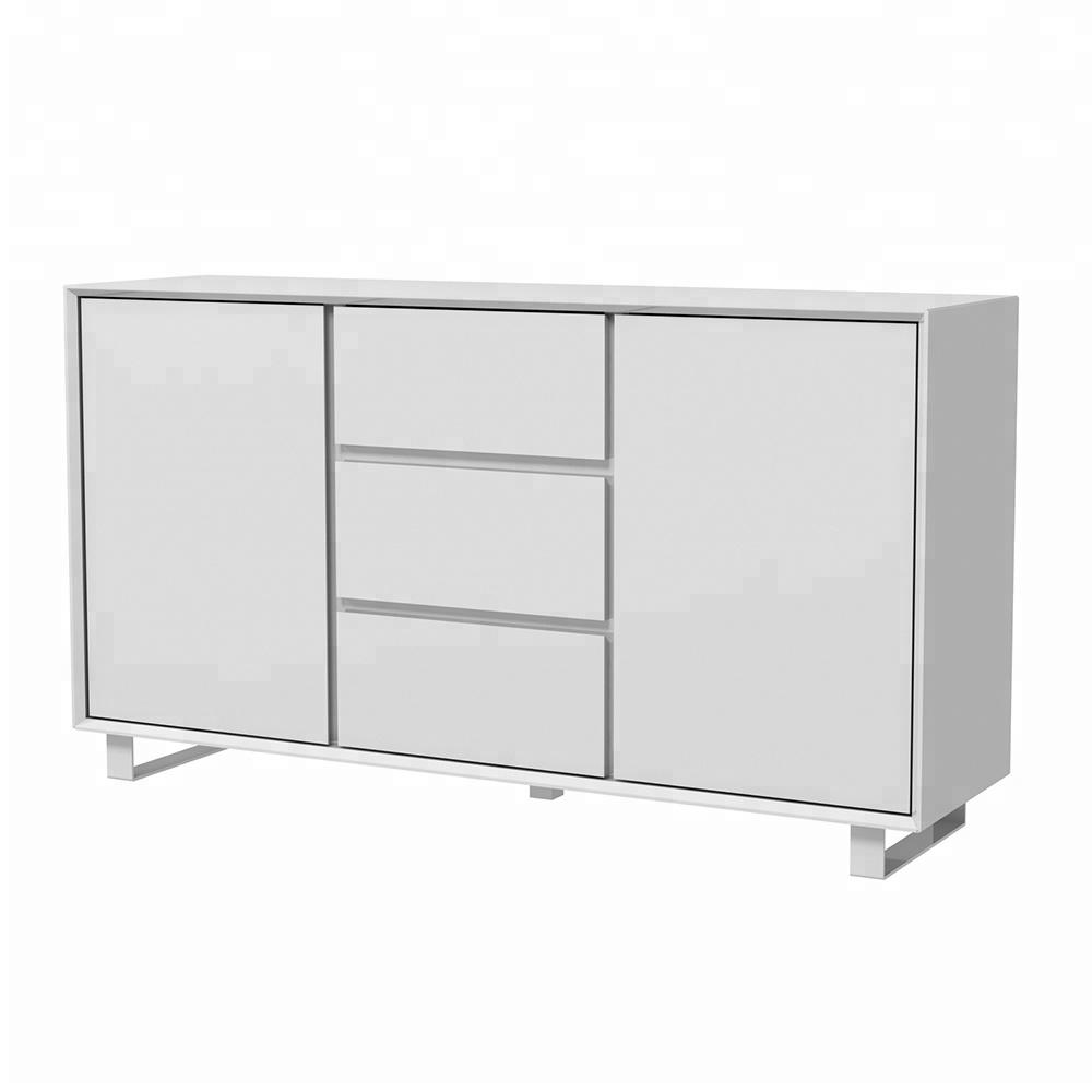 Industrial Metal Wood Sideboard, Industrial Metal Wood Sideboard Pertaining To Popular Corrugated Metal Sideboards (View 14 of 20)
