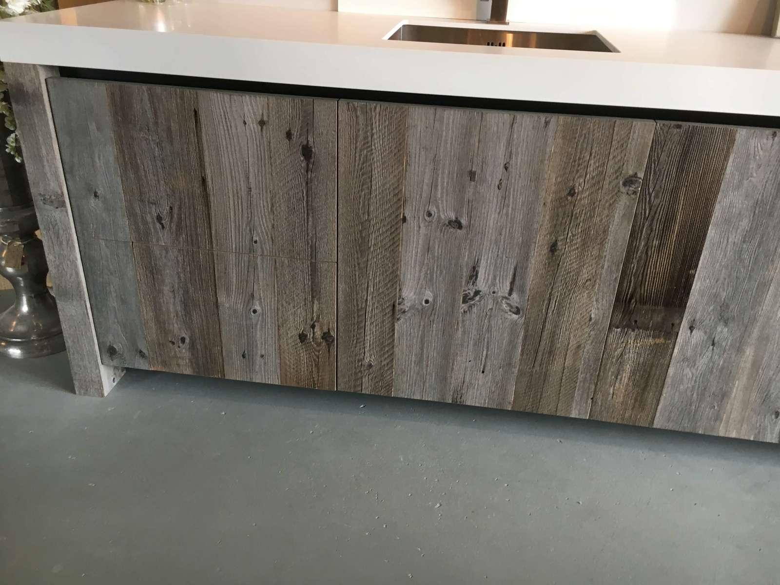 Innsbruck – Wood Panels Rustic Look Reclaimed Distressed Timber For Recent Burnt Tannin 4 Door Sideboards (Gallery 15 of 20)
