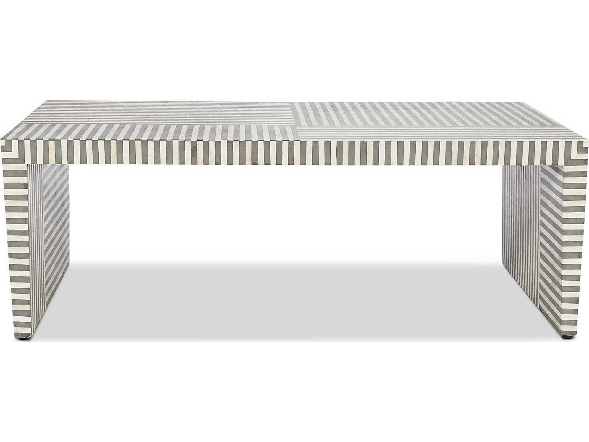 Interlude Home Felicity Natural / Grey 49'' X 24'' Rectangular Within 2018 Felicity Cocktail Tables (Gallery 8 of 20)