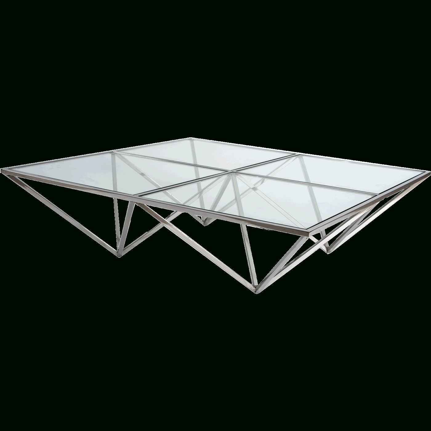 Inverted Triangle Coffee Tables Regarding Preferred Inverted Pyramids Coffee Table (View 7 of 20)