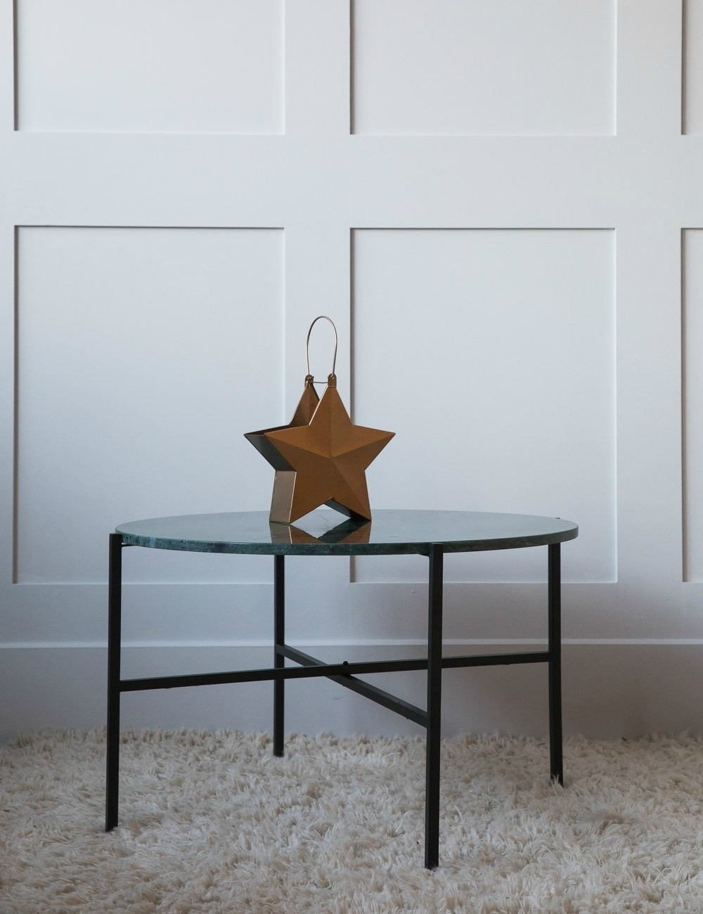 Iron Marble Coffee Tables Pertaining To Trendy Large Green Marble Coffee Table At Rose & Grey (View 15 of 20)