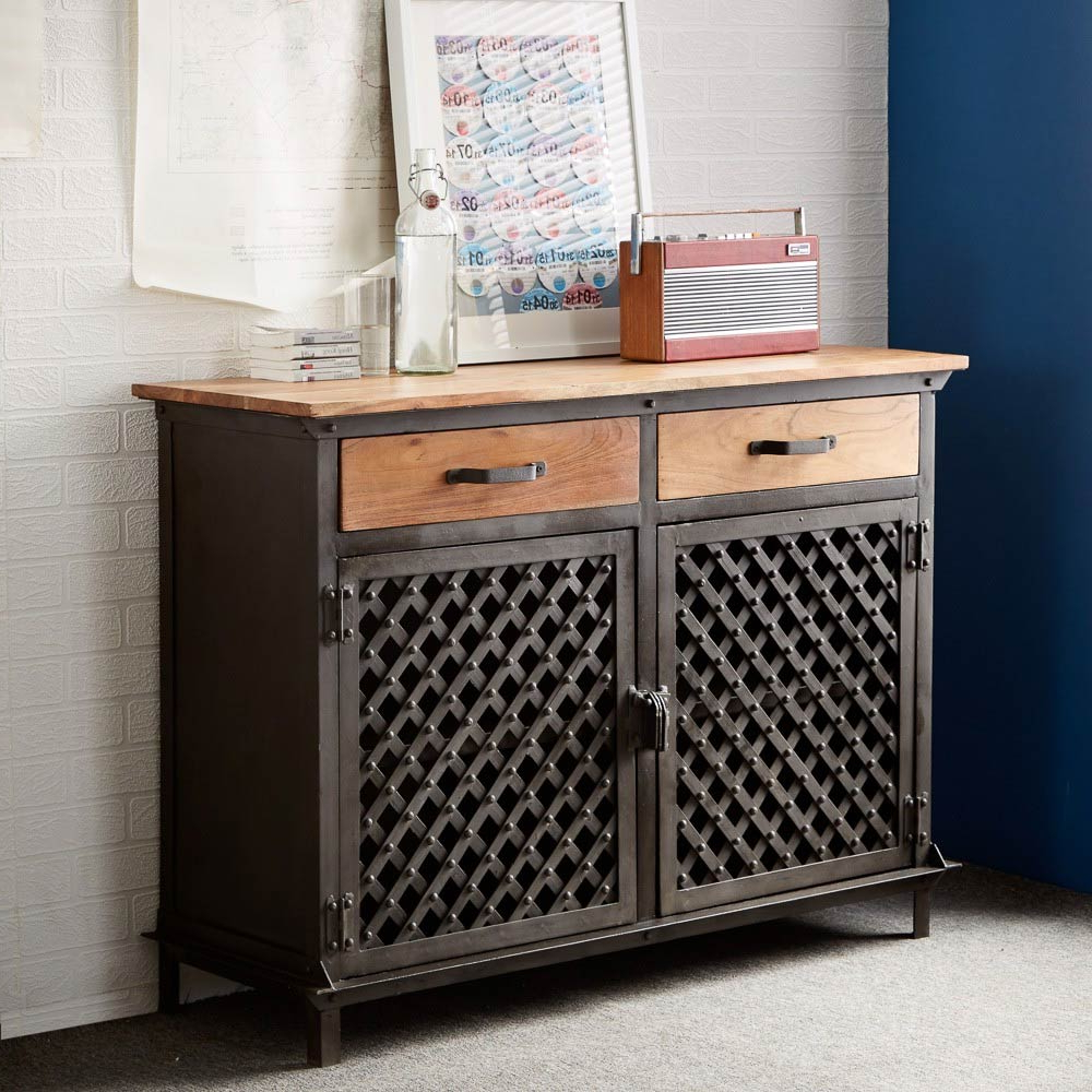 Iron Sideboards Pertaining To Most Recent Best Industrial Sideboard Ideas — Rocket Uncle Rocket Uncle (Gallery 16 of 20)